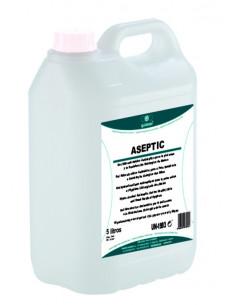 Gel Hidroalcohólico Desinfectante Aseptic 70ml,  500ml y 5L